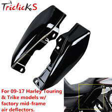 Black Mid-Frame Air Deflector For Harley Touring Electra Street Glide 2009-17 tr