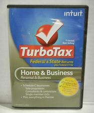 TurboTax Turbo Tax Home & Business Federal + State 2012 Tax Preparation