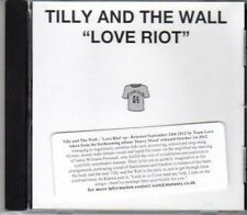 (DH688) Tilly & The Wall, Love Riot - 2012 DJ CD