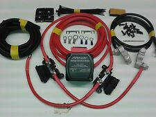 6mtr Split Charge Relay Kit 12V 140amp M-Power VSR System Ready Made Leads