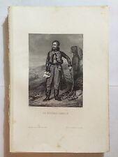 GRAVURE THIERS LE GENERAL LASALLE 1861 NAPOLEON TRES BON ETAT