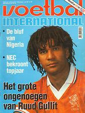 V.I. 1994 nr. 22 - RUUD GULLIT/NEDERLAND-SCHOTLAND/NIGERIA/VAN BRONCKHORST