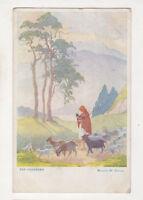 Margaret Tarrant The Goatherd 1936 Art Postcard US064