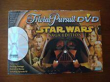 Trivial Pursuit DVD - Star Wars Saga Edition - COMPLETE - Parker Brothers 2005
