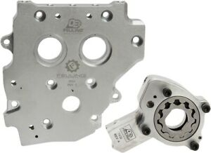 Feuling OE+ Cam Support Plate Oil Pump Kit 2007-2017 Harley Touring Dyna Softail