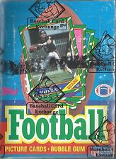 1986 Topps Football Sealed Box Of 36 Packs BBCE Certified & Wrapped Rice Young