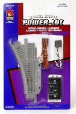 Life Like N Track LH Remote Switch  Left Link Power Loc NIB N/S 7811