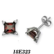 Pendientes de joyería con diamantes en oro blanco diamante I1