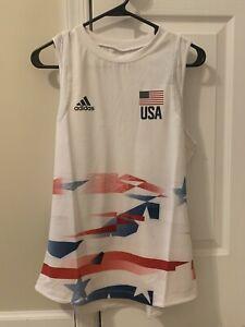 adidas Women's Team USA Volleyball Jersey - Size Large