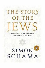 The Story of the Jews: Finding the Words 1000 BC - 1492 AD Free Shipping