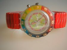 "SWATCH SCUBA-LOOMI-FLEX ""MIND THE SHARK"" - NEUWARE - MIT LICHT!!!"