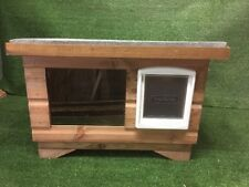 Dog/Cat Kennel/ Shelter ~ Dog House box/ with window DELIVERED FULLY ASSEMBLED