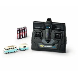 Carson 500504122 - 1:87 VW T1 Samba Bus m.Anhänger 2.4G RTR   Neuware