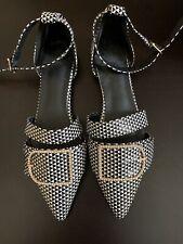 women flat shoes size 9 Multicolor
