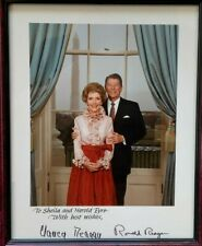 More details for signed photograph of president ronald reagan and nancy reagan with provenance