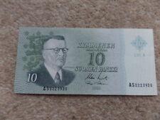 Rare Collection 10 Finland Markkaa Banknote  1963 UNC