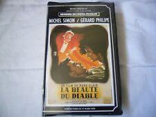 La Beaute du Diable Beauty and the Devil VHS SECAM 1950 René Clair FRENCH BIGBOX
