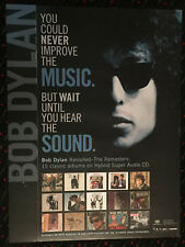 Bob Dylan Columbia Sacd 18x24 record store promo poster audiophile 2003 Columbia