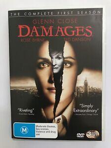 Damages - Season 1 (2007, Region 4, Glenn Close, Rose Byrne, Ted Danson)