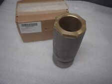Navy Marine M24235/17-017 Stuffing Tube Swage Tubeper Assembly Steel & Brass