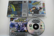PLAY STATION PSX PS1 MOTO RACER WORLD TOUR PLATINUM COMPLETO PAL ESPAÑA