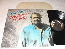 "Alex Taylor ""Voodoo In Me"" 1989 Rock LP, Nice NM!, RARE Vinyl, James Brother"