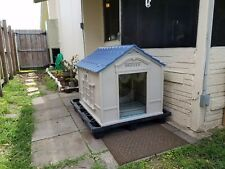 XL Large Dog Kennel OUTDOOR PET CABIN INSULATED HOUSE BIG CAGE