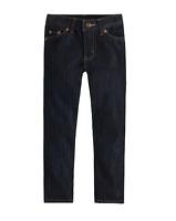 Levi's 511 Boys Slim Denim Dark Rinse Navy Jeans TINI {&}