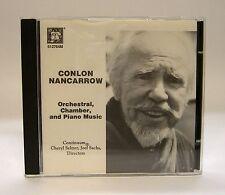 Conlan Nancarrow: Orchestral, Chamer, & Piano Music~ CD 1991 MH 512764M