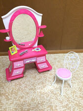 Barbie Doll My Dream House Home Vanity Mirror Chair Set Bedroom Furniture