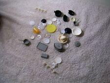 collection plastic miniature pots, pans pitcher bowl, cups