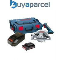 Bosch 18v GKS18V-LI Cordless Circular Saw + 1 x 2.0ah Battery, Charger + LBOXX