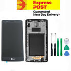 LG G4 (LGH815) LCD Digitizer Touch Screen Glass Assembly Replacement Black frame