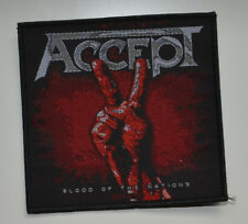 Accept-Blood Of The Nations-patch - 9,4 CM x 9,7 cm - 160965