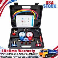 Automotive AC Diagnostic Manifold Gauge Set for Charging Vacuum R134A R410A R22
