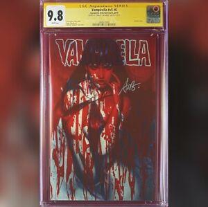 VAMPIRELLA #V5 #6 ARTGERM VARIANT COVER CGC 9.8 SS SIGNED BY ARTGERM