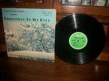 Christmas In My City-John Shelton Singers Orchestra Record Album LP