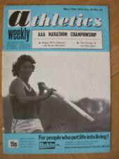 ATHLETICS WEEKLY MAY 15th 1976 BRIAN HOOPER POLE VAULT