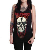Hollywood Undead Unisex Skull Black Cotton Tank Top T-shirt