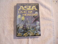 """Asia """"Live in Moscow"""" 2003 DVD Classic Rock Rec. Live 1990 New Sealed $"""