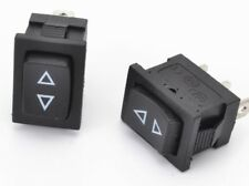 """ROCKER SWITCH """"SQUARE"""" (MICRO) ON-OFF-ON SPDT - Sunroof Windows Switch 12V-10Amp"""