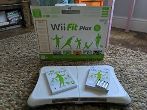 Boxed Unused White Nintendo Wii Fit Balance Board with Wii Fit Plus