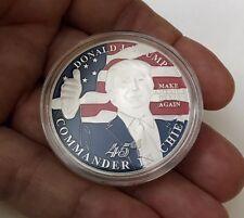 DONALD J. TRUMP 45th PRESIDENT USA COMMANDER IN CHIEF CHALLENGE COIN NO NYPD CPO