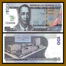 Philippines 100 Piso, 2012 p-213 100 Years Manila Hotel Replacement ZZ Unc