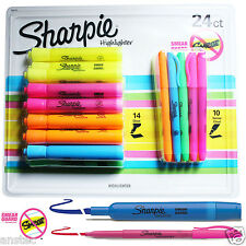 Sharpie Accent Highlighter Pens Smear Guard Pack of 24