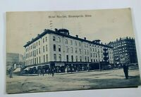 Vintage Hotel Nicollet Minneapolis MN 1908 Posted Antique Postcard Collectible