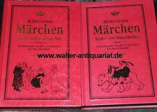Brüder Grimm Kinder- und Hausmärchen 2 Bände Gesamtausgabe 1997 Otto Ubbelohde..