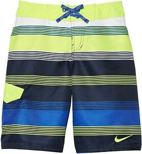 "Nike Kids Boy's Drift 9"" Boardshort Volt LG (14-16 Big Kids)"