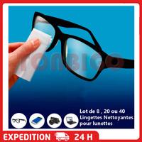 Lot de Lingettes nettoyantes  pour verre lunettes écrans smartphone optiques