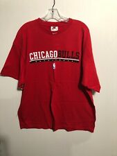 Vintage Nike Chicago Bulls Basketball Red Spellout T-Shirt XL 90s
